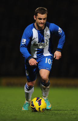 Shaun Maloney has enjoyed a successful season with Wigan.