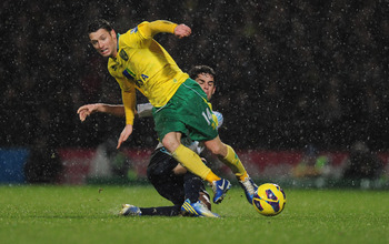 Wes Hoolahan has been a driving force for Norwich City this season.