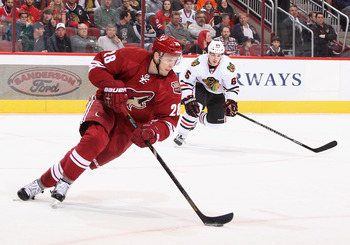 Lauri Korpikoski is going to be counted on to produce points this year for the Coyotes to maximize their potential