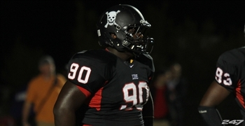 Jarran Reed could step in right away and give the Gators depth at defensive tackle or nose tackle. Photo Courtesy of 247Sports