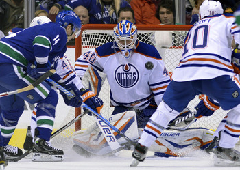 Devan Dubnyk will have to step up his game in order for the Oilers to compete in the short season.