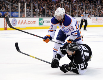 Sam Gagner is in his fifth year with the Oilers and is still only 23.