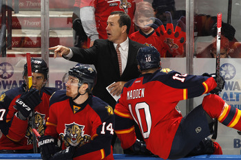 Second-year coach Kevin Dineen brought a new attitude to the Panthers franchise.