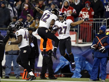 The Baltimore Ravens have plenty of reasons for celebrating in the playoffs.