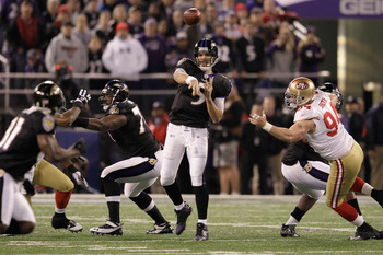 Joe Flacco can boost his value with a Super Bowl win.