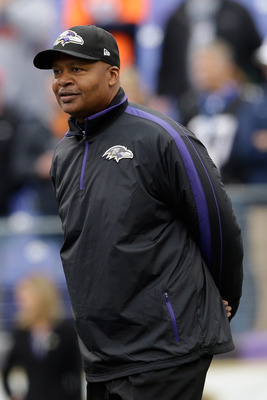 Caldwell hasn't been on the job very long at Baltimore.