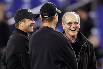The next family reunion will be a fair fight for Jim Harbaugh.