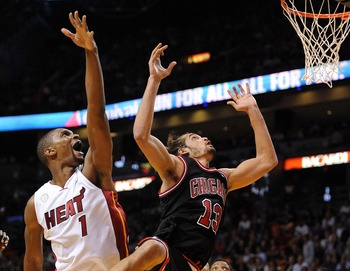 Chris Bosh needs to consistently challenge Chicago's bigs.