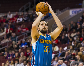 New Orleans Hornets' Ryan Anderson