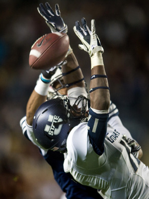Utah State's Will Davis was one of the top corners in the country in 2012.