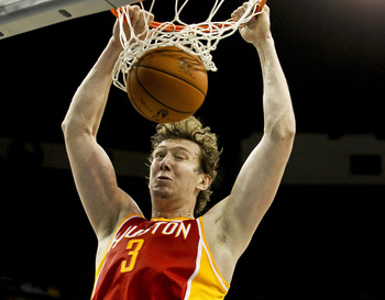 Houston Rockets' Omer Asik