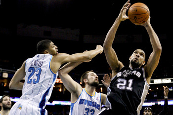 Tim Duncan is still one of the game's best defensive rebounders.