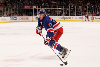 Ryan McDonagh's consistency could be of value to any team, but the Rangers will likely retain this RFA.