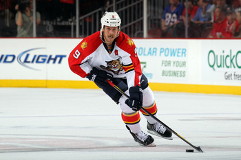 Stephen Weiss is a valuable top-three forward for the Panthers.