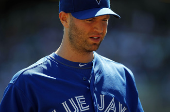 Happ made 10 appearances for the 2012 Blue Jays.