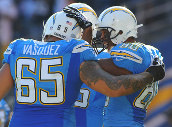 The Chargers will have to re-sign Louis Vasquez if they want to retain his services.