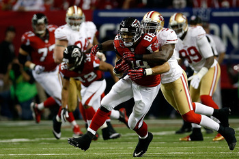 Patrick Willis receives the winning nod despite allowing a few Tony Gonzalez receptions.