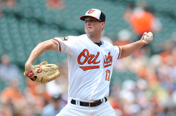 Brian Matusz's career could be saved working out of the pen.