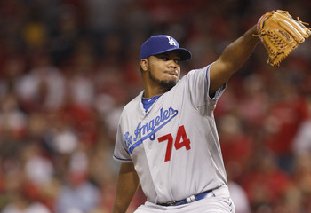 Kenley Jansen should be closing games for LA.