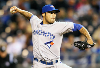 Toronto needs a healthy Sergio Santos late in games.