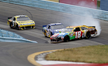 Who can forget the thrilling last lap of the 2012 race at Watkins Glen? It was all-out war.
