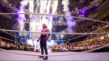 Undertaker entered the Rumble match at No. 30 in 2007. (photo credit: wwe.com)