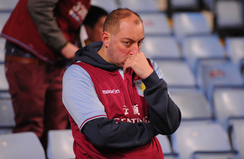 This fan can't understand why Villa lost to League Two side Bradford City