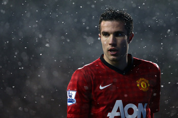 Robin van Persie will look to add to his tally against Fulham