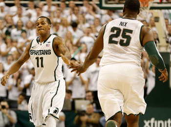 Keith Appling and the Michigan State Spartans are out in front of the pack in the early goings of Big Ten play.