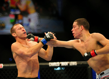 Diaz is at his best facing pure strikers like Cerrone.