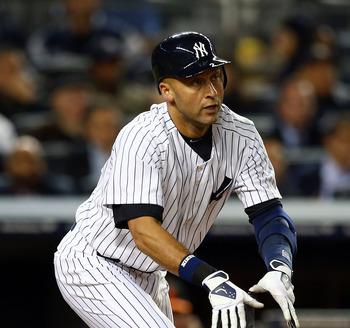 Derek Jeter led the Yankees in hitting with RISP, batting .310 in that situation