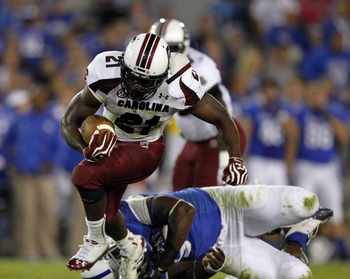 Marcus Lattimore is a great late-round option for Cincinnati if he can stay healthy.