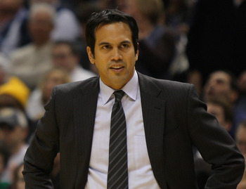 Erik Spoelstra is feeling much cooler this season.
