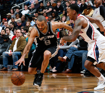 Parker once again has the Spurs on pace for 60 wins.