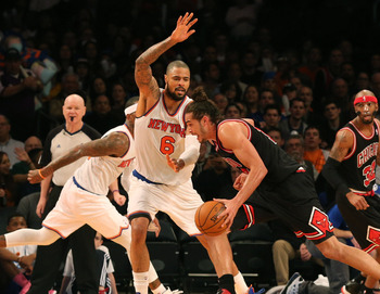 New York Knicks' Tyson Chandler.