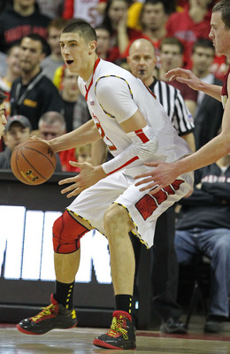 Jan 22, 2013; College Park, MD, USA; Maryland Terrapins center Alex Len (25) in action during the game against the Boston College Eagles at Comcast Center. Mandatory Credit: Mitch Stringer-USA TODAY Sports