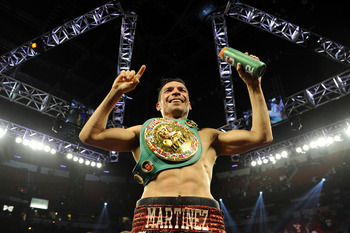 Martinez is a late bloomer who could still dominate virtually any fighter on the planet.