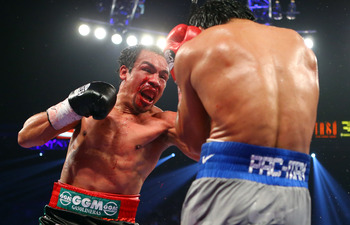 Dinamita finally got his just due when he defeated Manny Pacquiao.