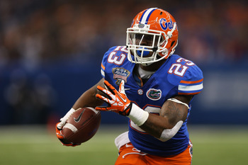 Mike Gillislee is projected as the No. 80 overall pick.