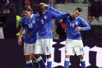 It is well-known that Mario Balotelli (centre) would relish a return to Italy, but can Milan afford him?