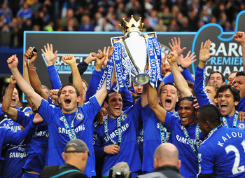 It's doubtful Chelsea fans will witness scenes such as their 2010 Premier League victory this season