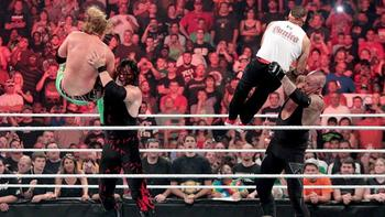 Lesnar already had a feud with Undertaker, so maybe Kane is next. (photo credit: wwe.com)
