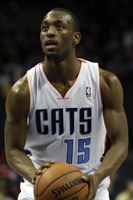 Kemba Walker leads a band of guards in the Bobcats' small lineup.