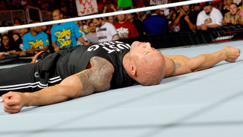 Even if the Rock can't beat Punk on Sunday, he will still have chances to win the title. Photo Courtesy of WWE.com