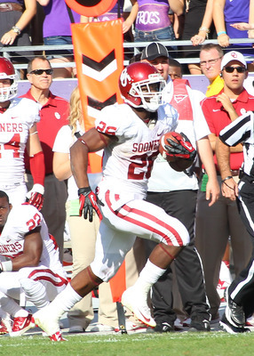 Damien Williams' speed and elusiveness are key assets for OU.