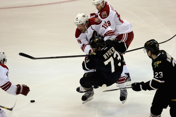 Captain Shane Doan's physical style of play has endeared him to the Phoenix fans