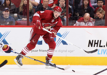 The Phoenix Coyotes Keith Yandle is one of the top offensive defenseman in the game today.