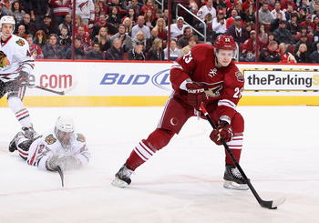 The Coyotes Oliver Ekman-Larsson is quickly becoming one of the best all-around defenseman in the NHL