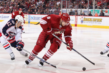 Lombardi will look to use his speed and his grit to put pucks in the net for the Coyotes this season