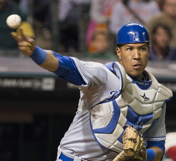 Royals C Salvador Perez sits atop my (catchers) sleeper list for 2013
